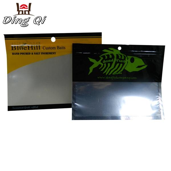 Soft plastic bait bags