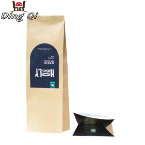 Sidefoldindsatsen kaffe poser