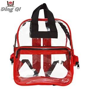 Custom factory popular transparent backpack