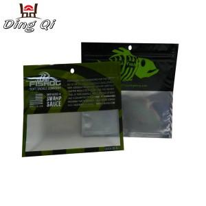 Soft plastic fishing lures bag