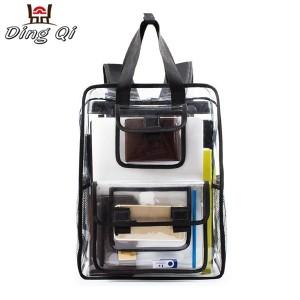 pvc travel waterproof big backpack bag custom logo shoulder bag