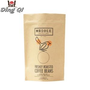 brown coffee bags 250g 340g 500g 1kg 2kg