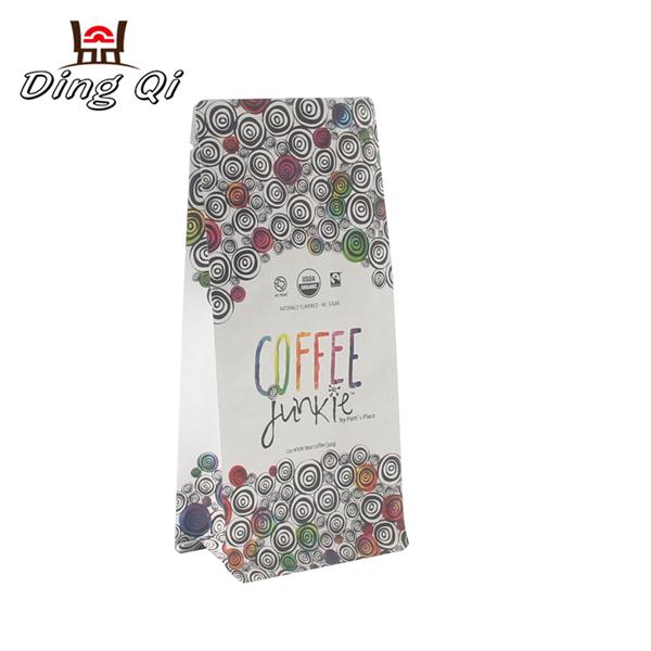 Custom printed coffee bags  250g 340g 500g 1kg 2kg