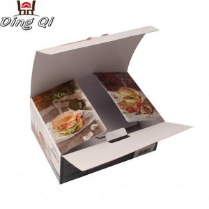 Luxury premium customized empty paper chocolate box packaging