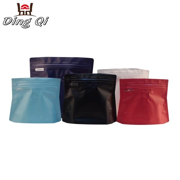 Stock diamond coffee pouch 250g 500g 1kg