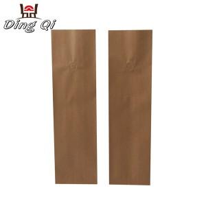 Gusseted paper bags 8oz 12oz 16oz 32oz 64oz