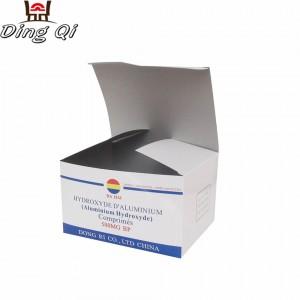 Medicine cardboard box