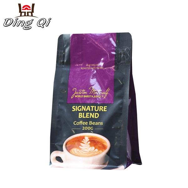 box bottom coffee bags 250g 500g 1kg 2kg